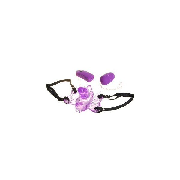 Vibrating Butterfly Wireless Vibration Egg - Multi Colors
